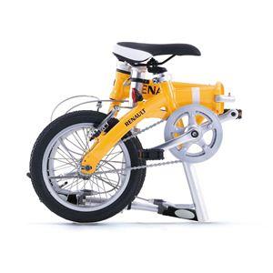 RENAULT(ルノー) 折り畳み自転車 14インチ AL-FDB14 オレンジ 【フォールディングバイク】