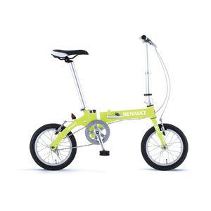 RENAULT(ルノー) 折り畳み自転車 14インチ AL-FDB14 グリーン 【フォールディングバイク】 - 拡大画像