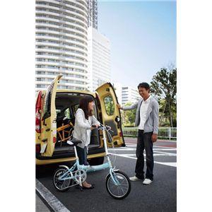 RENAULT(ルノー) 折り畳み自転車 18インチ FDB186 グリーン 【フォールディングバイク】