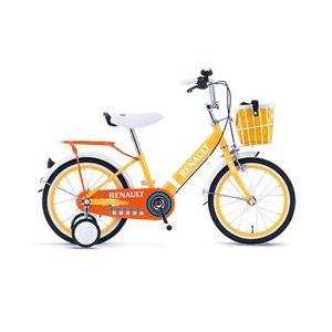 CHIBI RENAULT(チビ ルノー) 自転車 16-N オレンジ 【子供用自転車】