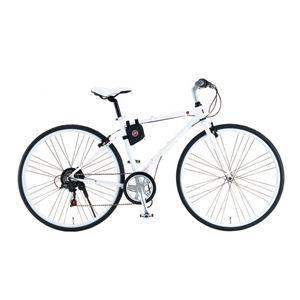 FIAT(フィアット) 折りたたみ自転車 CrMo-FDB7007 700×32C ホワイト