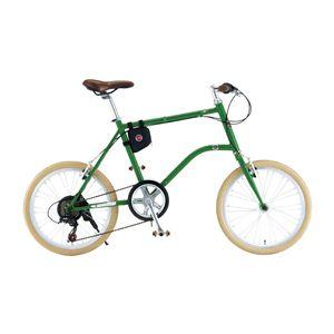 FIAT(フィアット) 折畳自転車 CrMo-FDB207MV 20インチ - 拡大画像