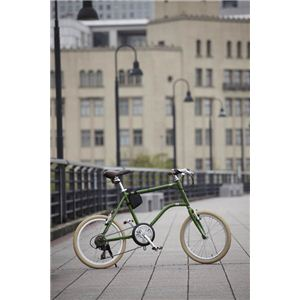 FIAT(フィアット) 折りたたみ自転車 CrMo-FDB207MV 20インチ グリーン