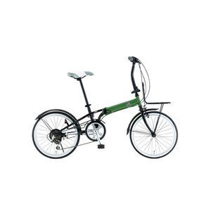 FIAT(フィアット) 折畳自転車 FDB206SK 20インチ グリーン - 拡大画像