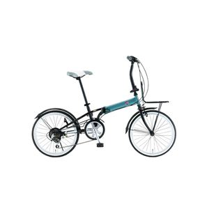 FIAT(フィアット) 折畳自転車 FDB206SK 20インチ ブルー - 拡大画像