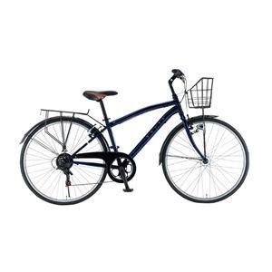 Rover(ローバー) 自転車 COMFORT7006 L 700×32C ネイビー - 拡大画像