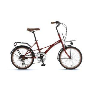 Alfa Romeo(アルファ ロメオ) 自転車 20インチ City 206L レッド - 拡大画像