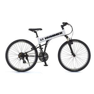 HUMMER(ハマー) 自転車 26インチ AL-ATB261 F-sus MB シルバー - 拡大画像