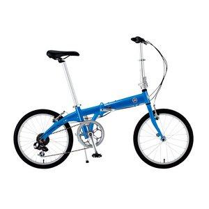 【送料無料】 FIAT(フィアット) AL-FDB207 TN 20インチ 折畳自転車 7段変速 ブルー