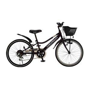 CHEVY(シボレー) CTB226 22インチ 自転車 6段変速 ブラック - 拡大画像