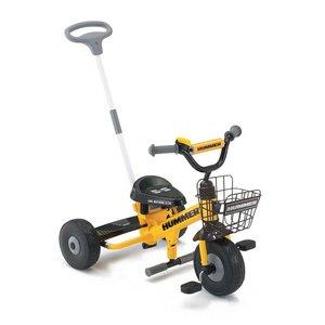 【訳あり・在庫処分】HUMMER(ハマー) Tricycle 折りたたみ自転車 イエロー