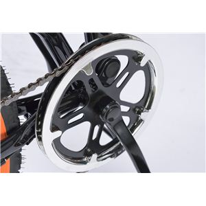 MYPALLAS(マイパラス) 折りたたみ自転車 M-670 26インチ 6段変速Wサス ブラック