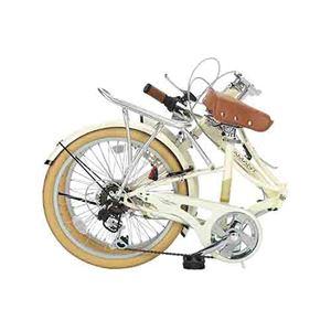 MYPALLAS(マイパラス) 折畳自転車20・6SP ライト付 M-260 ラベンダー