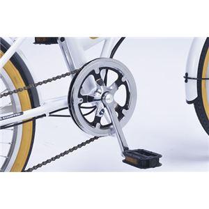 MYPALLAS(マイパラス) 折りたたみ自転車20・6SP・オールインワン M-252 パステル(PA) - 拡大画像