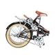 MYPALLAS(マイパラス) 折り畳み自転車 20インチ M-240 ライト付 ブラウン M-240BR ブラウン - 縮小画像4