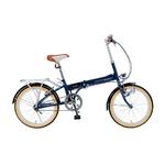MYPALLAS(マイパラス) 折り畳み自転車 20インチ M-240 ライト付 ラベンダー M-240LA ラベンダー【送料無料】