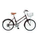 MYPALLAS(マイパラス) 自転車 S-サイクル 20インチ 6段ギア M-702 グレープ