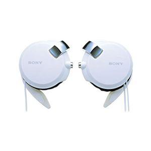 SONY イヤーフック型ヘッドホン MDR-Q68LW ホワイト