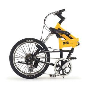HUMMER 折畳み自転車 FDB207F-sus イエロー