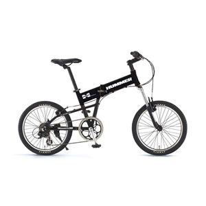 HUMMER 折畳み自転車 FDB207F-sus ブラック