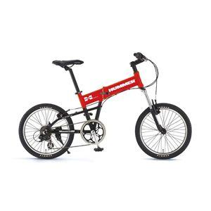 HUMMER(ハマー) 折り畳み自転車 FDB207F-sus 20インチ レッド