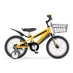HUMMER(ハマー) 子供用自転車 CHIBI(チビ) 16インチ イエロー(簡易工具セット付き)