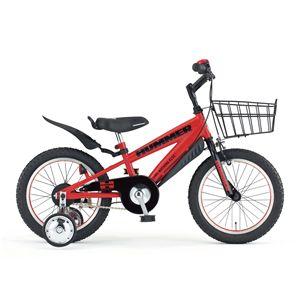HUMMER 自転車 Chibi 16 レッド(簡易工具セット付き)