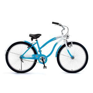 CADILLAC 自転車 BEACH CRUISER ブルー(簡易工具セット付き)
