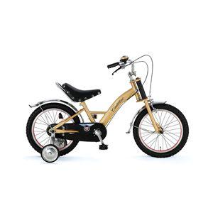 CHIBI 子供用自転車 Cadillac16 ゴールド(簡易工具セット付き)