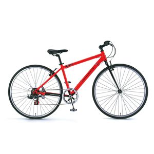 CORVETTE 自転車 AL-CRB7007 N レッド(簡易工具セット付き)