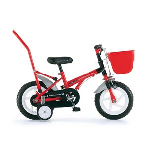 CHIBI 自転車 CORVETTE 12 (幼児車) レッド(簡易工具セット付き)