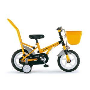 CHIBI 自転車 CORVETTE 12 (幼児車) イエロー(簡易工具セット付き)