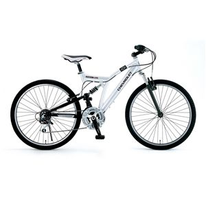 CHEVY(シボレー) 自転車 ATB 268 W-sus 26インチ ホワイト 【マウンテンバイク】 - 拡大画像