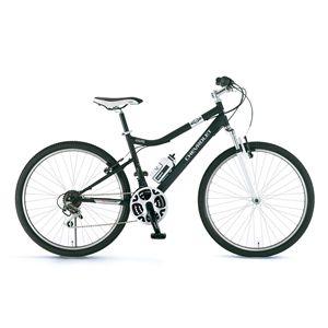 CHEVY(シボレー) 自転車 LOOP ATB 268 F-sus 26インチ ブラック 【マウンテンバイク】
