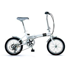 CHEVY(シボレー) 折り畳み自転車 FDB 166 16インチ ホワイト