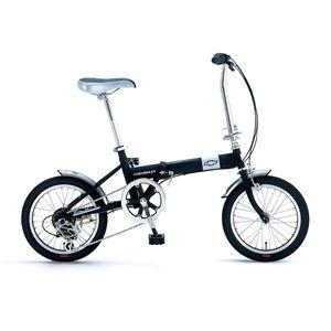 CHEVY(シボレー) 折り畳み自転車 FDB 166 16インチ ブラック - 拡大画像