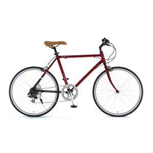 Mini クロスバイク AL-TR247 レッド(簡易工具セット付き)