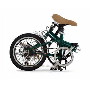 Mini 折畳み自転車 FDB166 グリーン
