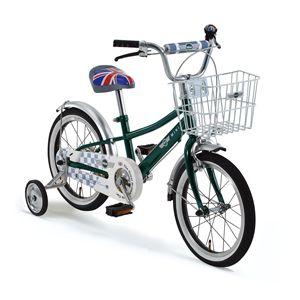 CHIBI Mini 子供用自転車 16 グリーン(簡易工具セット付き)