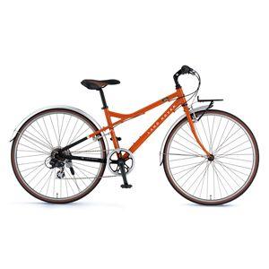 LAND ROVER クロスバイク AL-CRB7006M オレンジ(簡易工具セット付き)