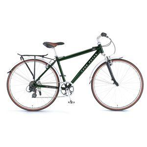 LAND ROVER(ランドローバー) 自転車 AL-TS7006F-sus 700×32C グリーン(簡易工具セット付き) 【クロスバイク】