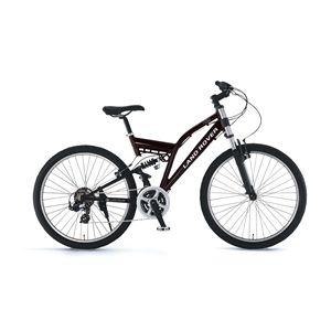 LAND ROVER 折畳み自転車 AL-ATB261 W-sus ブラック