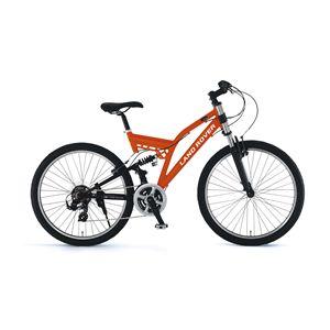 LAND ROVER(ランドローバー) 自転車 AL-ATB261 W-sus 26インチ オレンジ 【マウンテンバイク】