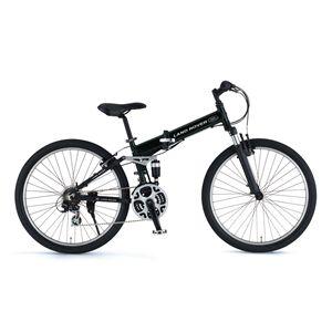 LAND ROVER(ランドローバー) 折り畳み自転車 AL-FDB268 W-sus 26インチ ブラック 【マウンテンバイク】