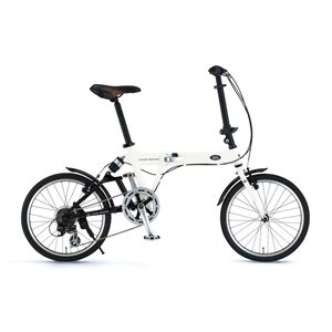 LAND ROVER 折畳み自転車 AL-FDB207 R-sus ホワイト