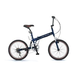 LAND ROVER 折畳み自転車 FDB206 W-sus ブルー