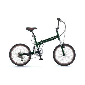 LAND ROVER(ランドローバー) 折り畳み自転車 FDB206 W-sus 20インチ グリーン