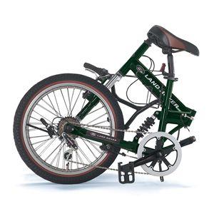 LAND ROVER 折畳み自転車 FDB206 W-sus グリーン
