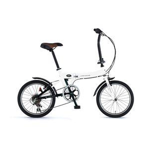 LAND ROVER(ランドローバー) 折り畳み自転車 FDB186 18インチ ホワイト