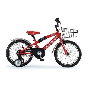 LAND ROVER 子供用自転車 KID'S18 レッド(簡易工具セット付き)